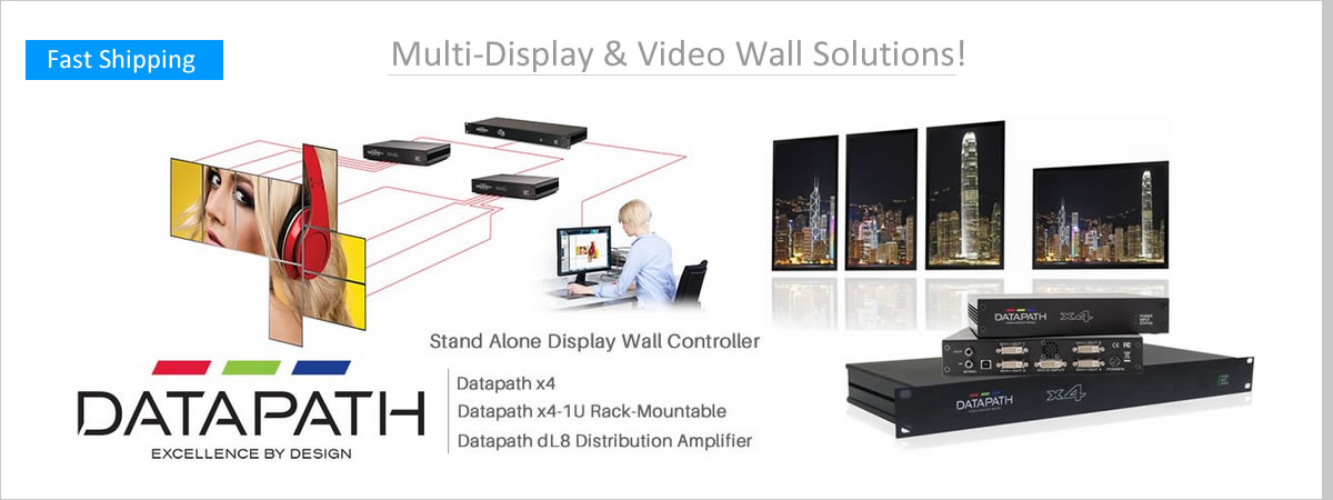 Datapath Video Wall Products