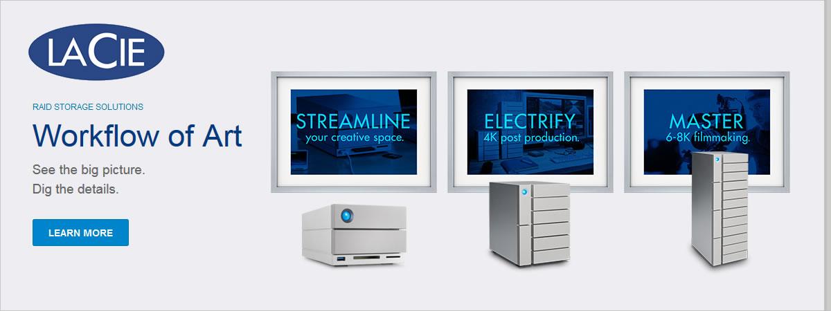 LaCie Storage Solutions
